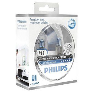 Philips H1 WhiteVision 12V 12258WHVSM ( plus 2x W5W)