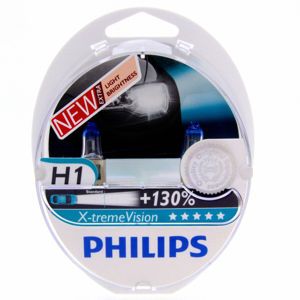 Philips H1 X-treme VISION 12V 12258XV plus S2 plus 130procent