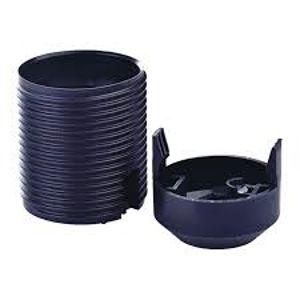 E27 1352-1300 plast černá objímka s vnějším závitem