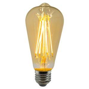 HEITRONIC LED Vintage Filament ST64 4W E27 2200K 15002 Teplá bílá Čirá