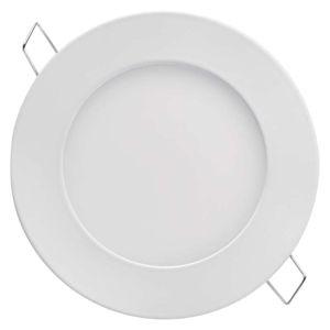 EMOS LED panel 120mm, kruhový vestavný bílý, 6W neutrální bílá 1540110620