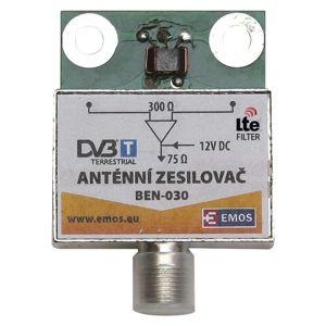 EMOS Anténní předzesilovač 30dB VHF/UHF 2507100700
