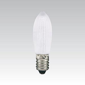 LED Žárovka vánoční E10 14V-55V červená 262011000