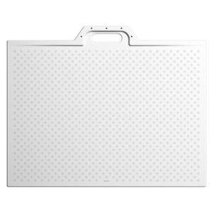 Sprchová vanička čtvercová Kaldewei Xetis 120x120 cm smaltovaná ocel alpská bílá 489030020001
