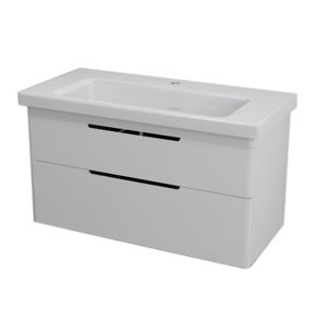 Koupelnová skříňka pod umyvadlo Sapho Ella 95,7x42,8 cm bílá 70100
