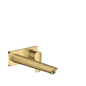 Umyvadlová baterie Hansgrohe Talis E bez podomítkového tělesa leštěný vzhled zlata 71734990