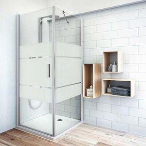 Boční zástěna ke sprchovým dveřím 90x200,8 cm pravá Roth Tower Line chrom lesklý 725-900000P-00-20