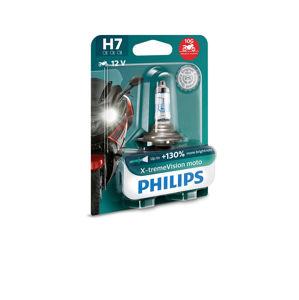Philips X-Treme Vision Moto 12972XVBW H7 PX26d 12V 55W plus 130procent