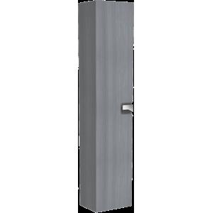 Koupelnová skříňka vysoká Kolo Twins 35x27,5x180 cm grafit stříbrný 88461000