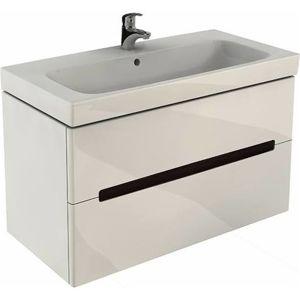 Koupelnová skříňka pod umyvadlo Kolo Modo 99x48x55 cm bílá lesk 89507000