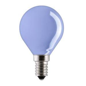 NARVA žárovka kapka 40W E14 P45 220-240V modrá