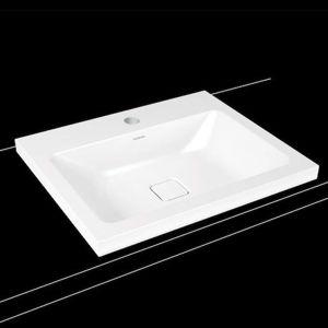 Umyvadlo na desku Kaldewei CONO 60x50 cm alpská bílá otvor pro baterii, bez přepadu 901906013001