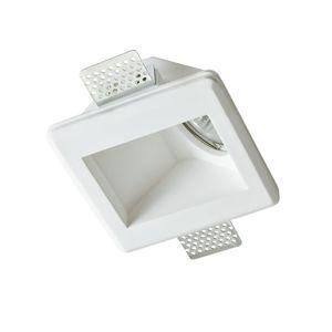 ACA Lighting Gypsum zapuštěné sádrové svítidlo G90061C