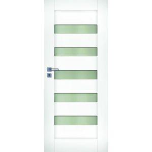 Interiérové dveře Naturel Accra pravé 90 cm bílé ACCRABF90P