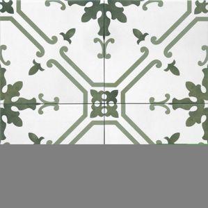 Dlažba Tonalite Aquarel verde elektra 15X15 cm mat AQUELEVE