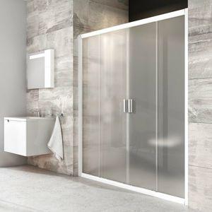 Sprchové dveře 120x190 cm Ravak Blix bílá 0YVG0100ZG