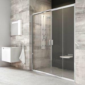 Sprchové dveře 190x190 cm Ravak Blix chrom lesklý 0YVL0C00Z1