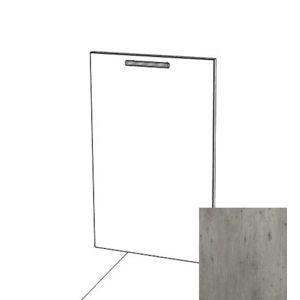 Kuchyňská dvířka na myčku spodní Naturel Gia beton DBE713X446DI
