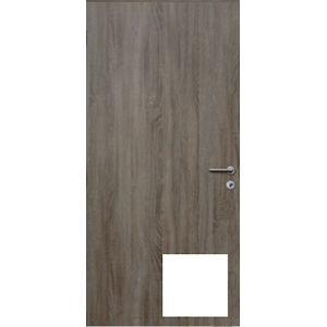 Protipožární dveře Naturel Technické pravé 80 cm bílé DPOB80P