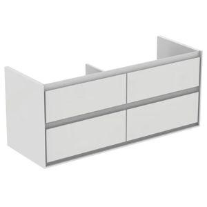 Koupelnová skříňka pod umyvadlo Ideal Standard Connect Air 120x44x51,7 cm šedý dub/bílá mat E0822PS