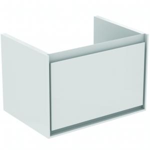 Koupelnová skříňka pod umyvadlo Ideal Standard Connect Air 58x40,9x40 cm šedý dub/bílá mat E0847PS