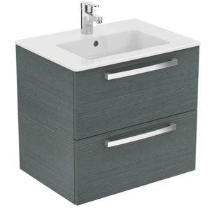 Koupelnová skříňka pod umyvadlo Ideal Standard Tempo 60x44 cm dub světle šedý E3240SG