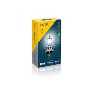 ELTA H4 VisionPro plus 150procent 60-55W 12V P43t sada 2ks