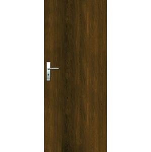 Vchodové dveře Naturel Entry pravé 80 cm ořech karamelový ENTRYOK80P