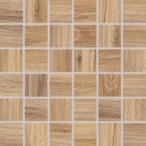 Mozaika Rako Faro světle hnědá 30x30 cm mat DDM06717.1