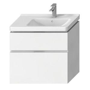 Koupelnová skříňka pod umyvadlo Jika Cubito 74x42,6x68,3 cm bílá H40J4254035001