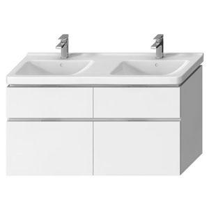 Koupelnová skříňka pod umyvadlo Jika Cubito 128x46,7x68,3 cm bílá H40J4274025001