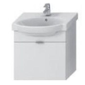 Koupelnová skříňka pod umyvadlo Jika Tigo 52x52x31 cm bílá H4551210215001