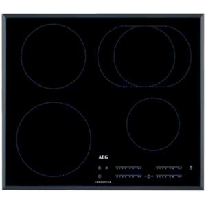 Indukční varná deska AEG černá IKB64413FB