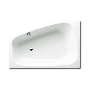 Asymetrická vana Kaldewei Plaza Duo 180x80 cm smaltovaná ocel Antislip alpská bílá 237030000001