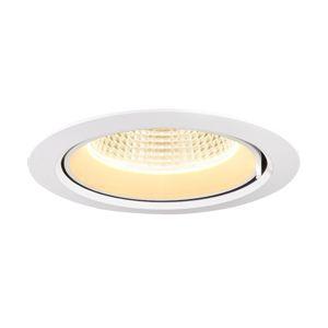 BIG WHITE GIMBLE IN 175 Indoor, stropní vestavné LED svítidlo, bílé, 3000K 1002881