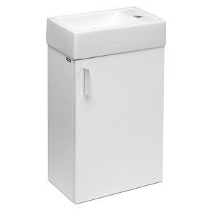 Koupelnová skříňka s umyvadlem Jika Litt 40x22,1x67,5 cm bílá H4535111753001