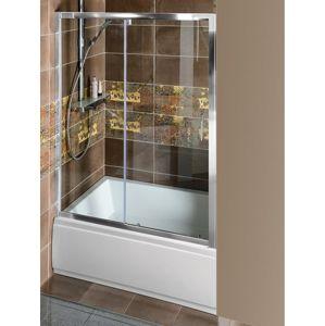 Sprchové dveře 110x200 cm Polysan DEEP chrom lesklý MD1115