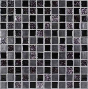 Skleněná mozaika Mosavit Moondance negro 30x30 cm mat / lesk MOONDANCENE