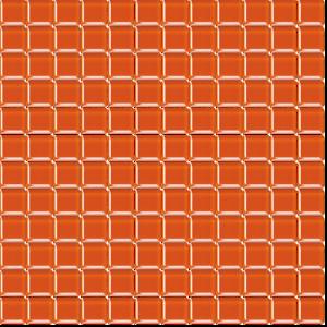Skleněná mozaika Premium Mosaic tmavě oranžová 30x30 cm lesk MOS25DOR