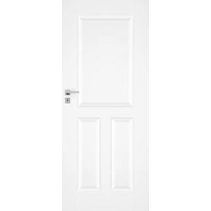 Interiérové dveře Naturel Nestra levé 80 cm bílé NESTRA180L