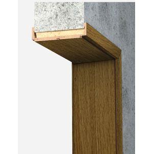 Obložková zárubeň Naturel 80 cm pro tloušťku stěny 30-34 cm dub levá O8DP80L