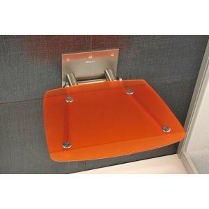 Sprchové sedátko Ravak Ovo B oranžová B8F0000017