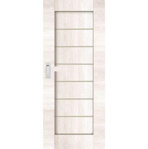 Interiérové dveře Naturel Perma posuvné 80 cm borovice bílá posuvné PERMABB80PO