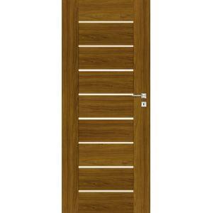 Interiérové dveře Naturel Perma levé 60 cm ořech karamelový PERMAOK60L