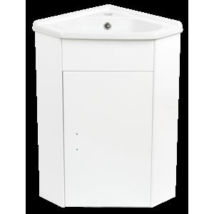 Koupelnová skříňka s umyvadlem Keramia Pro 57,3x41 cm bílá PRORSDV