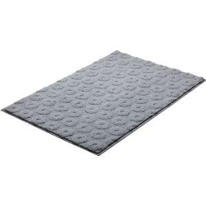 Koupelnová předložka Grund Lisa 90x60 cm šedá SIKODGLIS603