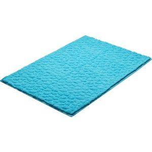 Koupelnová předložka Grund Stela 90x60 cm modrá SIKODGSTE605