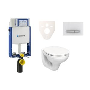 Závěsný set WC Kolo Idol + modul Geberit Kombifix s tlačítkem Sigma 50 (alpská bílá) SIKOGE2K8