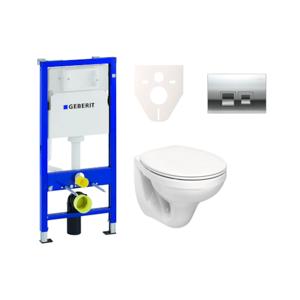 Závěsný set WC Kolo Idol + nádržka Geberit Duofix s tlačítkem Delta 50 (chrom mat) SIKOGES6K6