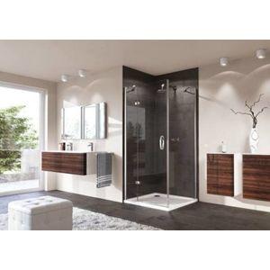 Sprchové dveře 100x100x190 cm levá Huppe Strike chrom lesklý SIKOSTRIKE100LS100